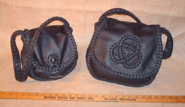 The Small And Xtra Large Size Of This Style Purse That I Build