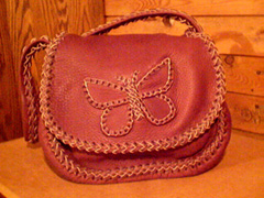 Another Xtra large roll button purse (without the roll button - with the butterfly).