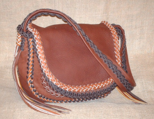 This Picture Is Not A Of The Similar Purse To Left While They Custom And Handmade Leather
