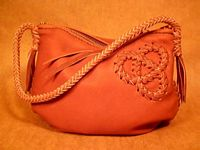 handmade leather handbags braided