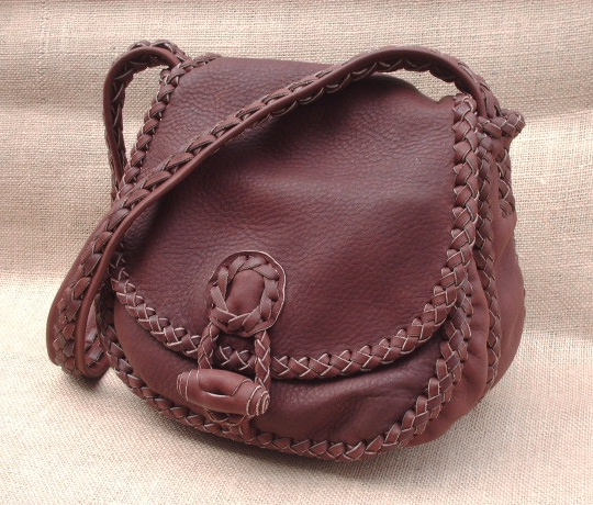 Leather Purses Handmade With Soft High Quality Very
