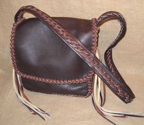 Leather Shoulder Bags Made W High Quality Full Grain